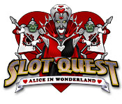 Feature screenshot game Slot Quest: Alice in Wonderland