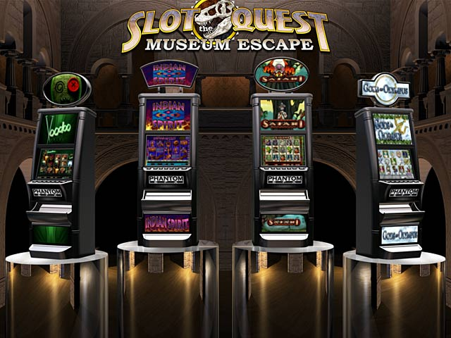 Slot Quest: The Museum Escape Screenshot-2
