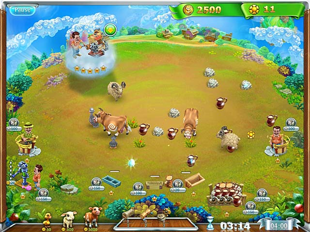 Snow globe farm world gameplay full version free download for Feed and grow fish free download full game