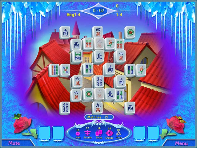 Game screenshot 2 Snow Queen Mahjong
