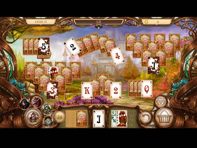 Snow White Solitaire: Charmed kingdom img