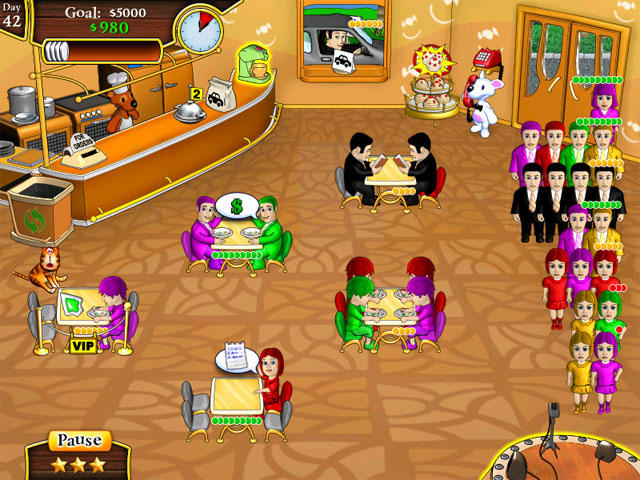 Snowy lunch rush gt ipad iphone android mac pc game