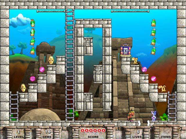 Game screenshot 2 Snowy: Treasure Hunter 2