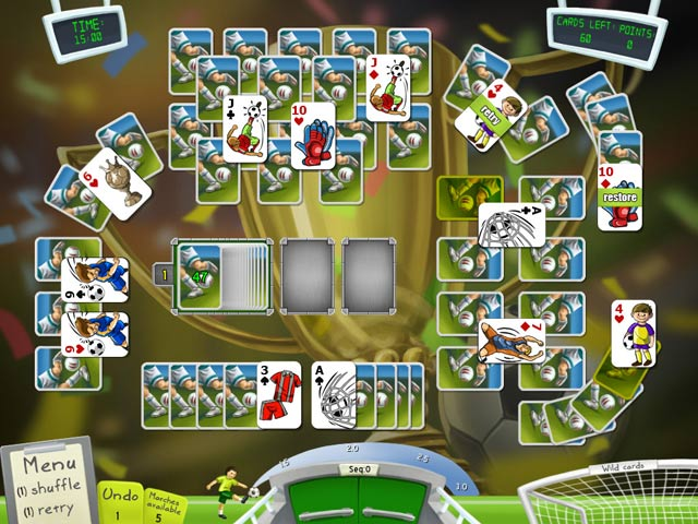 Game screenshot 1 Soccer Cup Solitaire
