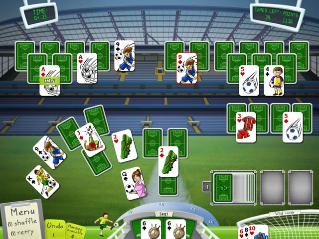 Game screenshot 3 Soccer Cup Solitaire