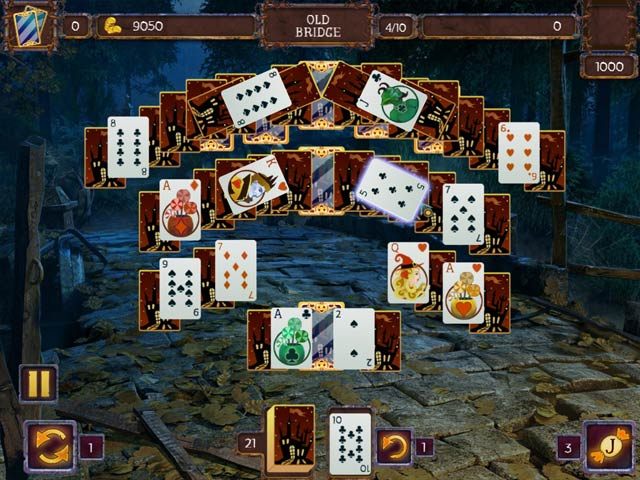 Video for Solitaire Game: Halloween