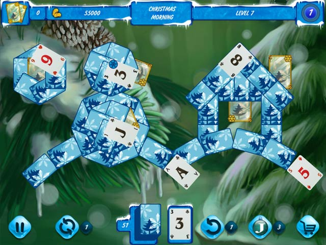 Solitaire Jack Frost: Winter Adventures 2 img
