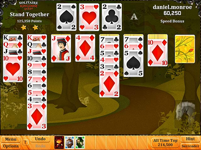 Game screenshot 1 Solitaire Kingdom Quest
