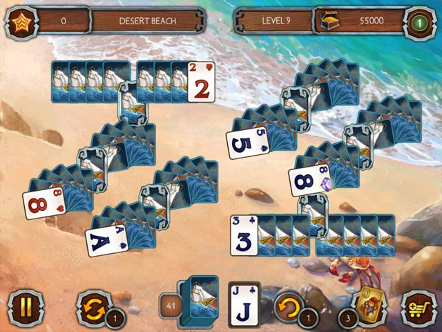 Solitaire Legend Of The Pirates 2 img