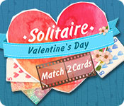 Feature screenshot game Solitaire Match 2 Cards Valentine's Day