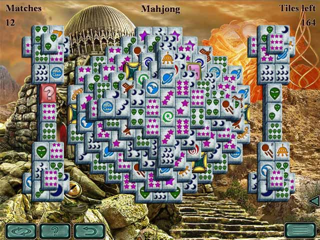 Game screenshot 1 Space Mahjong