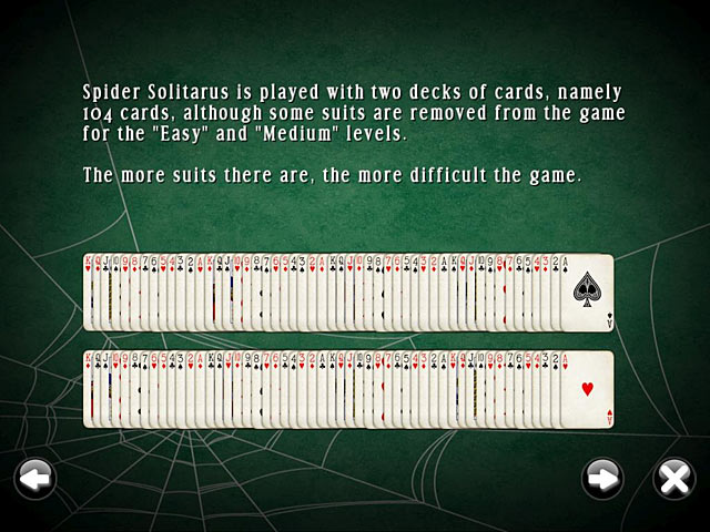 SpiderMania Solitaire screenshot 3