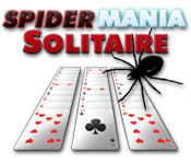 SpiderMania Solitaire depiction