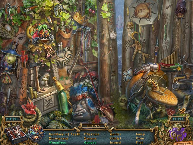 Game screenshot 1 Spirits of Mystery: The Dark Minotaur Collector's Edition
