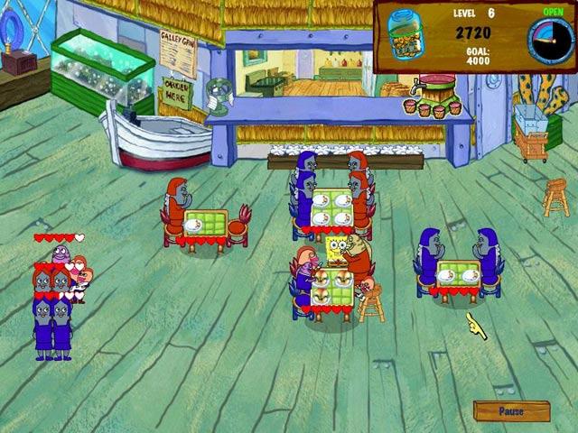 spongebob kostenlose spiele
