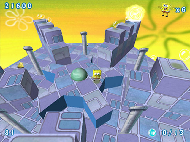 Game screenshot 2 SpongeBob SquarePants Obstacle Odyssey 2