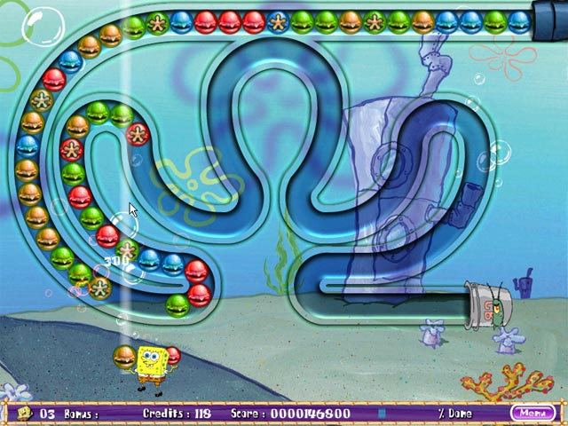 Game screenshot 2 SpongeBob SquarePants Bubble Rush!