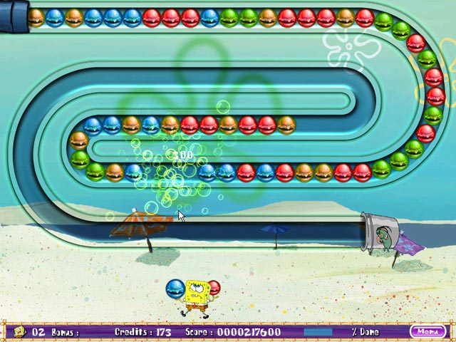 Game screenshot 3 SpongeBob SquarePants Bubble Rush!