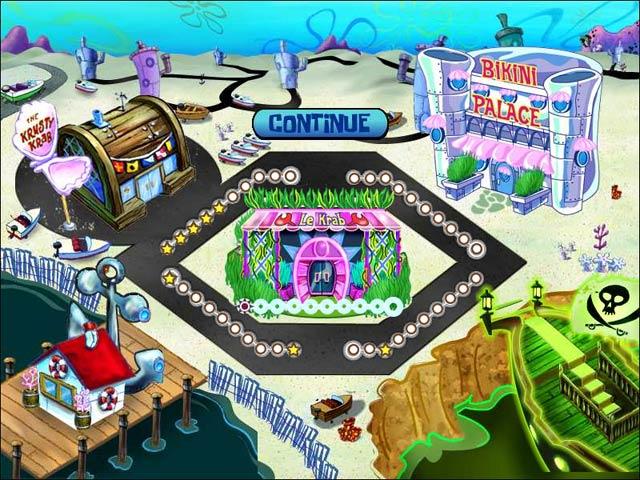 Game screenshot 2 SpongeBob SquarePants Diner Dash