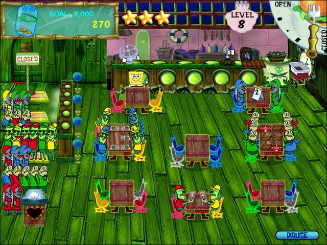 SpongeBob SquarePants Diner Dash – Mac Screenshot-3