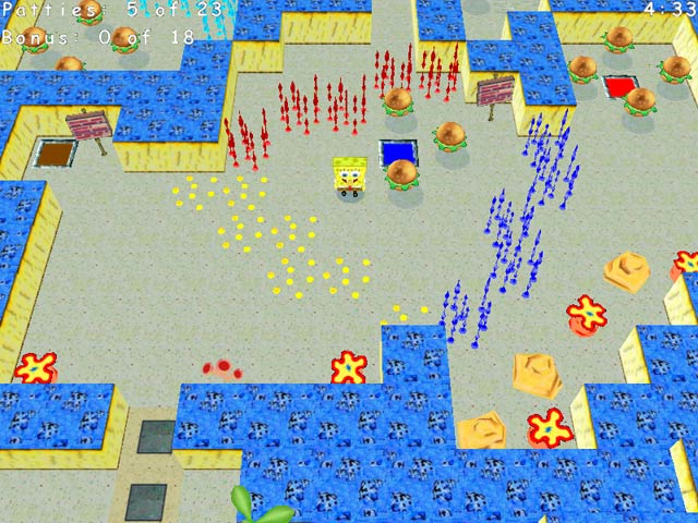 Game screenshot 1 SpongeBob SquarePants Krabby Quest