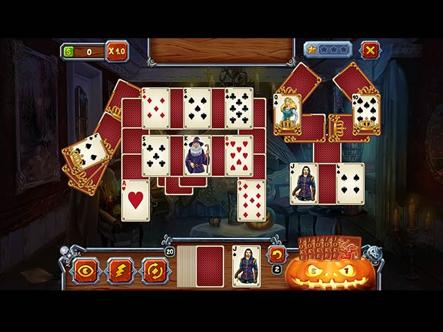 Spooky solitaire halloween ipad iphone android mac for Big fish solitaire games