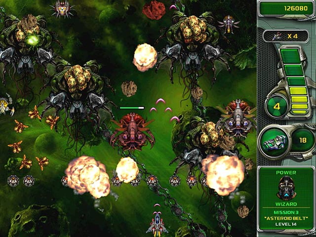 Game screenshot 2 Star Defender 4