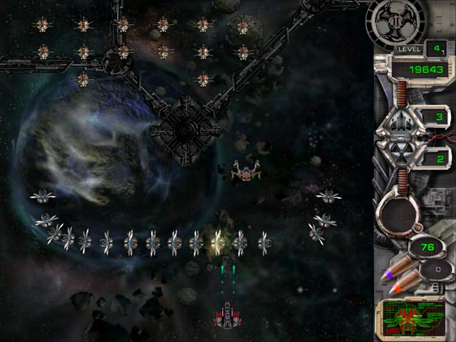 Game screenshot 1 Star Defender II