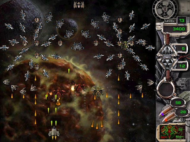 Game screenshot 2 Star Defender II