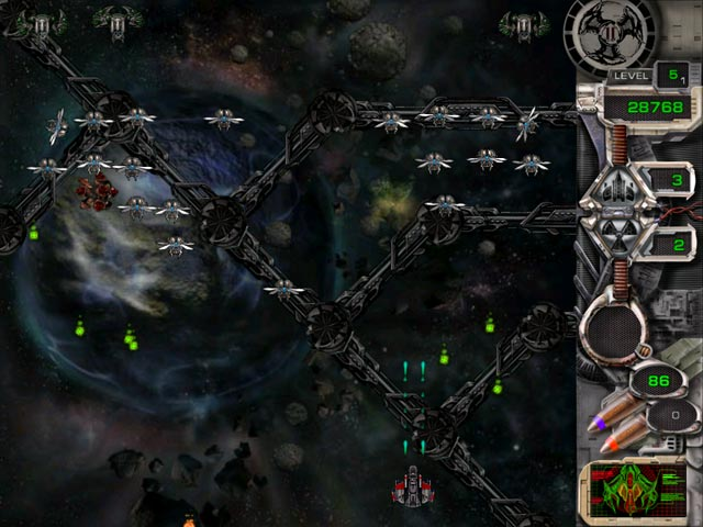 Game screenshot 3 Star Defender II