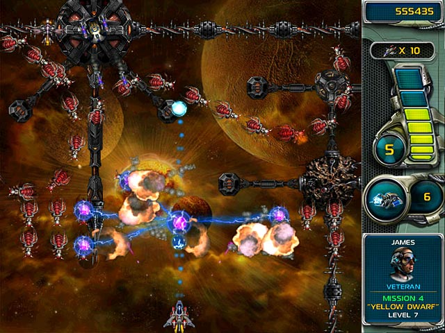 Game screenshot 2 Star Defender III