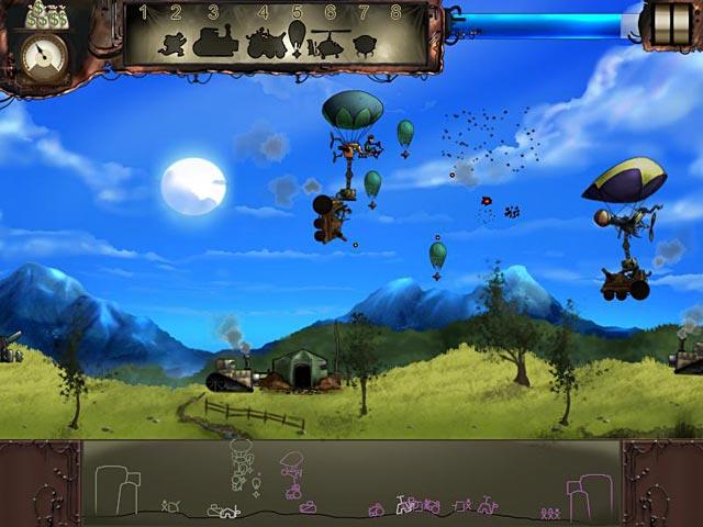 Steam brigade ipad iphone android mac pc game big for Air balloon games