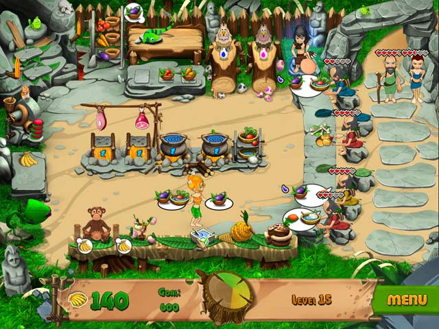 Stone Age Cafe screen 1