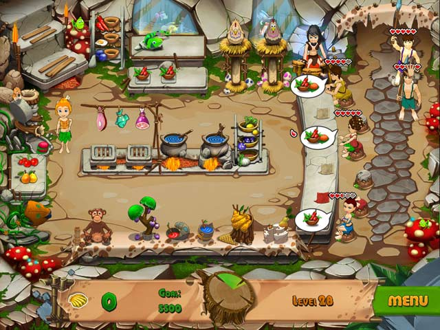 Game screenshot 2 Stone Age Cafe