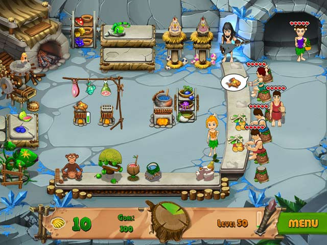 Game screenshot 3 Stone Age Cafe