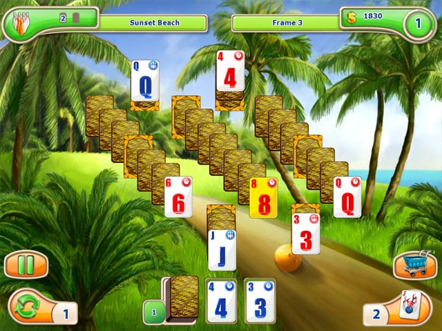 Game screenshot 1 Strike Solitaire 3 Dream Resort