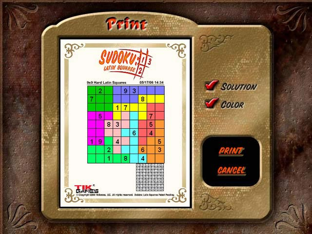 Game screenshot 2 Sudoku Latin Squares