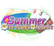 Feature screenshot game Summer Tri-Peaks Solitaire