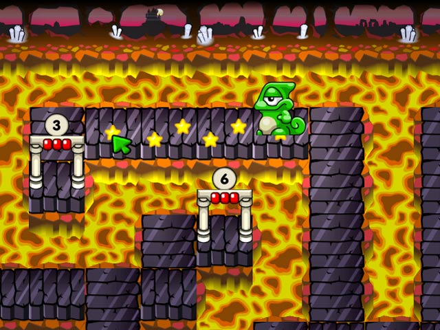 Game screenshot 1 Super Yum Yum Puzzle Adventures