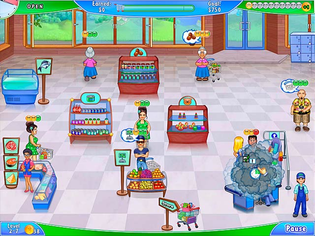 Game screenshot 1 Supermarket Management 2