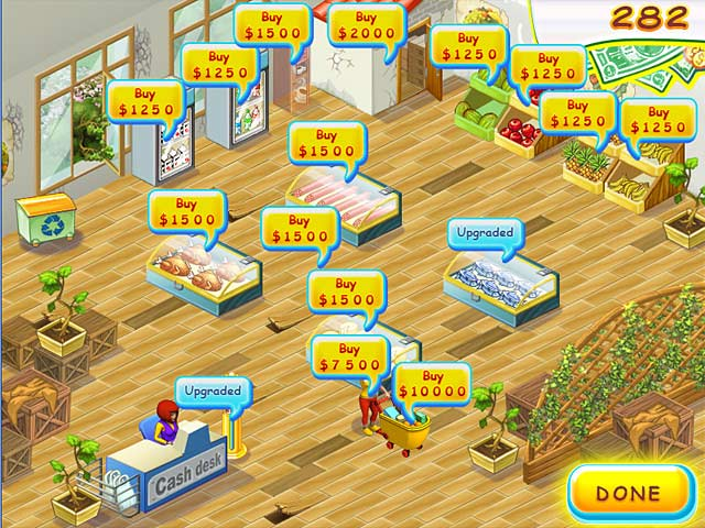 Game screenshot 1 Supermarket Mania