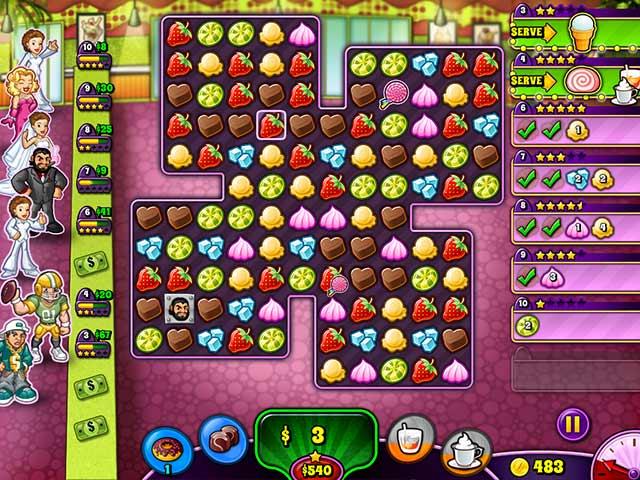 Game screenshot 3 Sweet Shop Rush