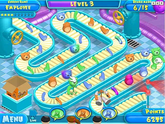 Game screenshot 3 Teddy Factory