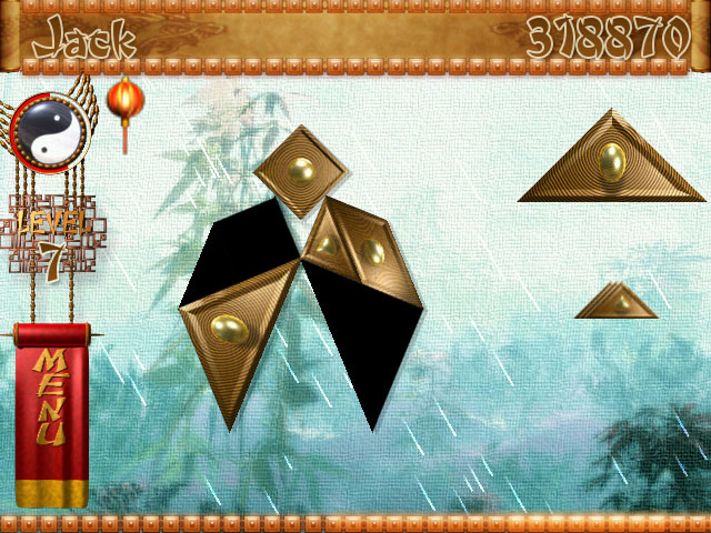 Game screenshot 1 Temple of Tangram
