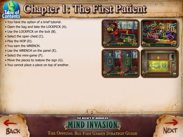 Game screenshot 1 The Agency of Anomalies: Mind Invasion Strategy Guide