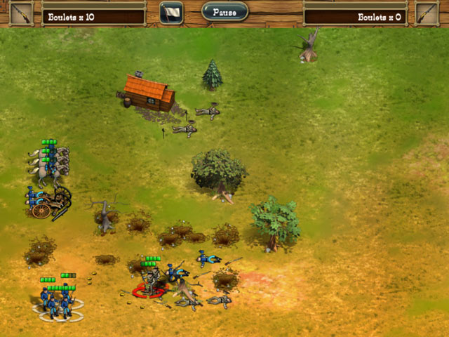 Game screenshot 1 The Bluecoats: North vs South