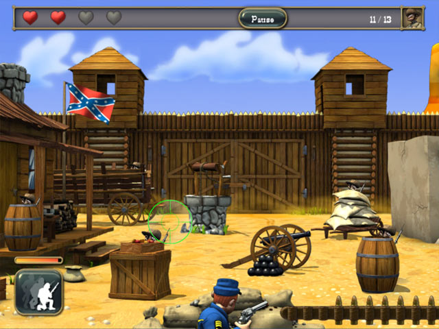 Game screenshot 2 The Bluecoats: North vs South
