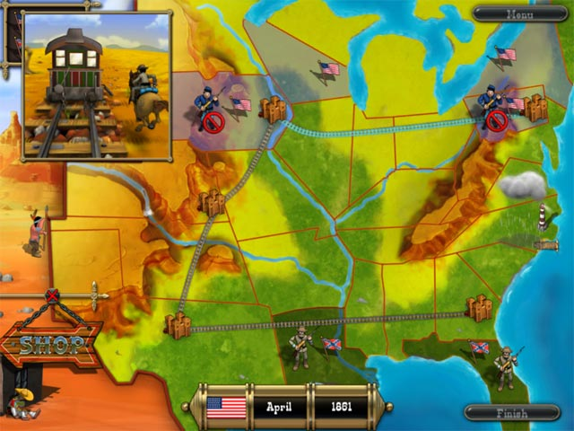 Game screenshot 3 The Bluecoats: North vs South