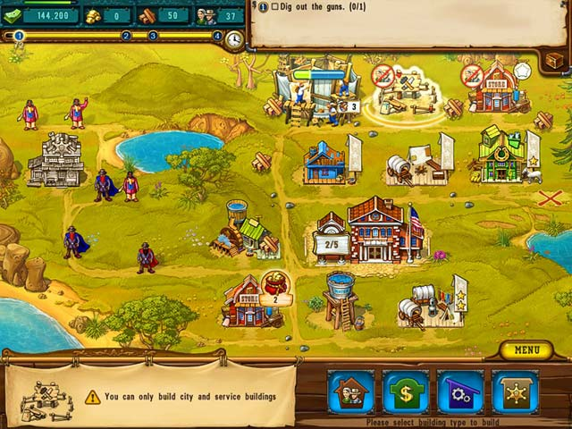 Game screenshot 1 The Golden Years: Way Out West