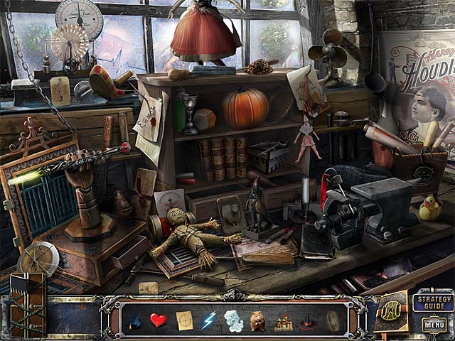 Game screenshot 1 The Great Unknown: Houdini's Castle Collector's Edition
